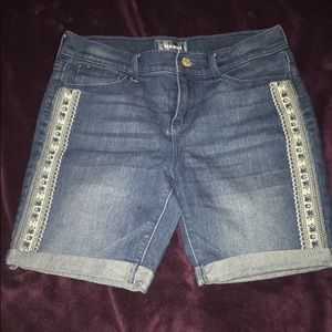 Old Navy Shorts ( with threaded design ) .